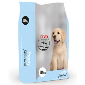 Puppy premimum geëxtrudeerd Kivo Trimsalon Onyx