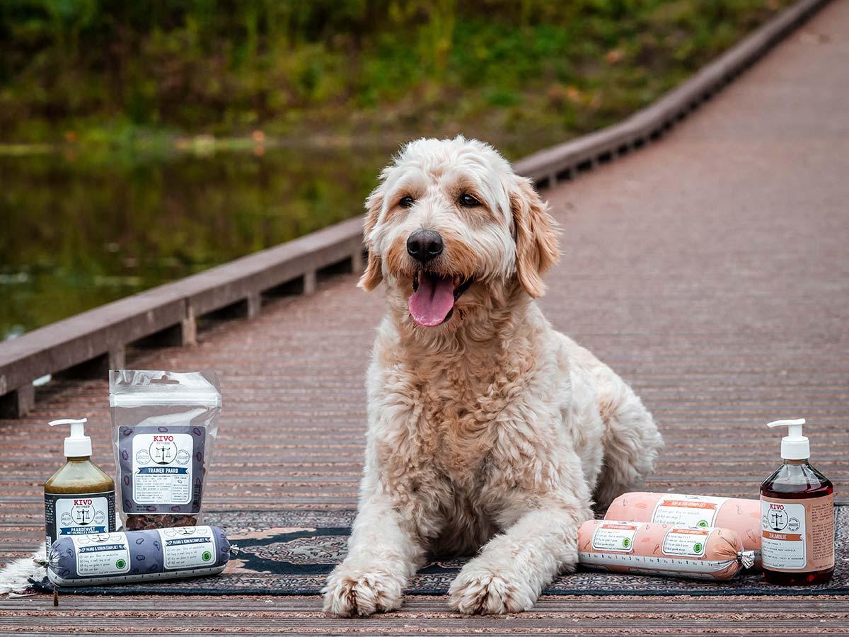 Trimsalon Onyx Kivo hondenvoer vers vlees